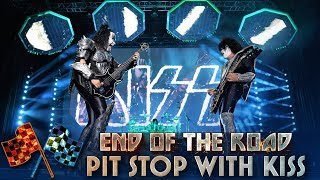 YouTube動画:THANK YOU NORTH AMERICA! Pit Stop with KISS