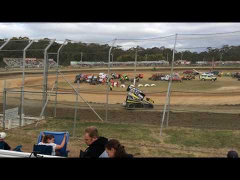Sprintcars Hotlaps Group 4 Latrobe Speedway 5/12/15