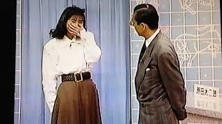 タモリに体重を暴露された松本伊代.