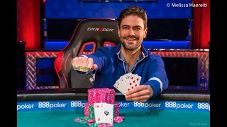 James Obst Captures First Bracelet!