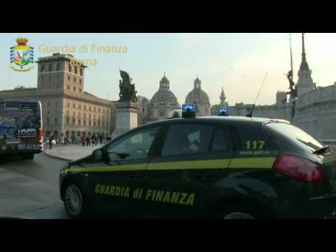 """Operazione della Guardia di Finanza di Roma """"Boccone amaro"""""""
