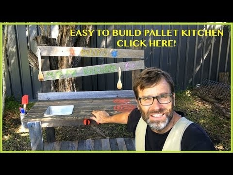 Play Kitchen Pallet Ideas How To Build An Awesome Play