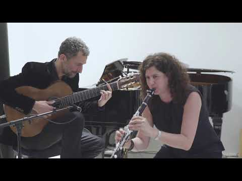 Anat Cohen & Marcello Gonçalves - Live at Buffet Crampon Paris Showroom