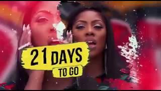21 Days to go: Tiwa Savage   #TheSavageTour London Edition