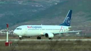 Air Explore take off Mostar