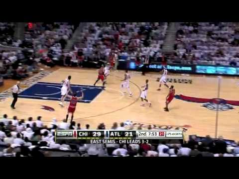 Hawks vs. Bulls - Game 6 Eastern Conference Semi-Finals 2011 NBA Playoffs (12-05-2011)