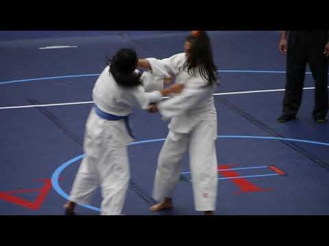click2ED videos   156 JUDO Girls - Roosevelt vs Leilehua  4-14-18