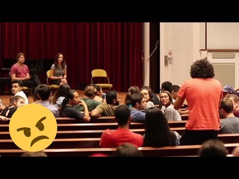 College Students Triggered by Trump Support!   Roaming Millennial at Lafayette College