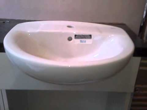 Recessed basin fitting - the DIY way