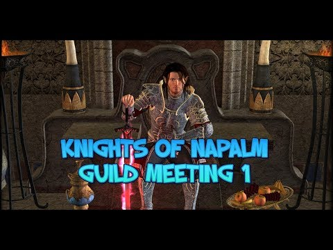 EverQuest 2 Knights Of Napalm Guild Meeting