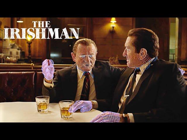 How The Irishman's Groundbreaking VFX Took Anti-Aging To the Next Level | Netflix