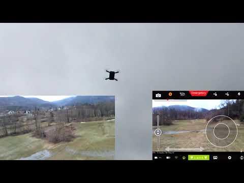 C-me Cme Selfie Drone con GPS, prova in volo