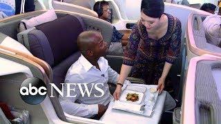 What is it like to be on board the world's longest flight?