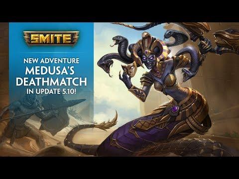 SMITE - New Adventure - Medusa's Deathmatch