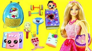 10 DIY MINIATURE ITEMS FOR YOUR BARBIE DOLLHOUSE - simplekidscrafts