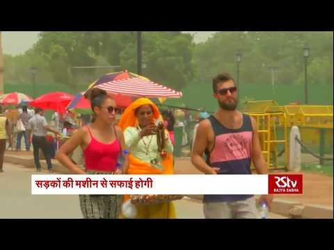 Dust storms worsen pollution in Delhi