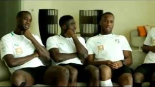 Didier Drogba Eboue Hakkında Neler Söyledi - Röportaj - Eğlenceli Video