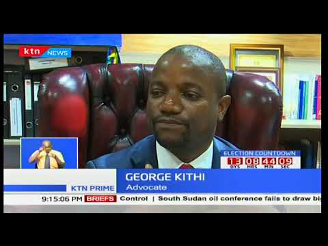 Raila Odinga in London preparing to address an international gathering on Kenyan situation