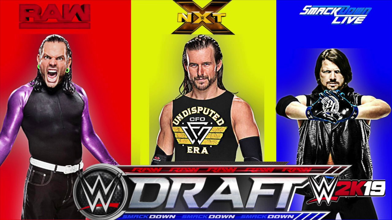 WWE 2K19 Universe Mode Draft !
