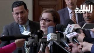 مونية مسلم / وزيرة التضامن الوطني و الأسرة و قضايا المرأة  -el bilad tv -