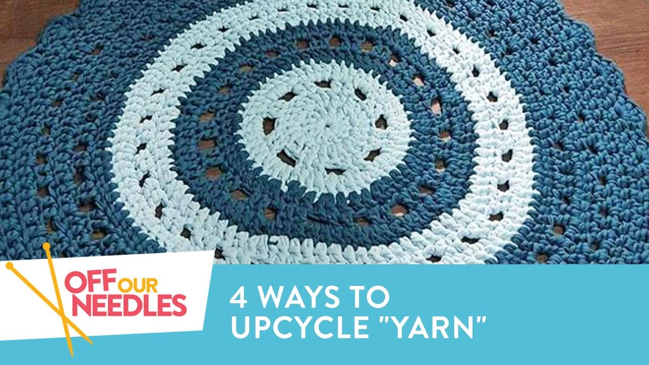 UPCYCLED Knitting: Turn Denim, Cotton & Plastic into Yarn! | Off Our ...
