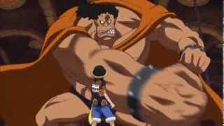 (One Piece) Luffy meets other contestants at the Colosseum