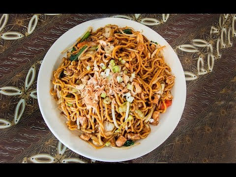 Javanese Fried Noodle of Padi Restaurant in San Leandro, California