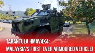 Meet Tarantula HMAV4x4: Malaysia's First-Ever Armoured Vehicle!