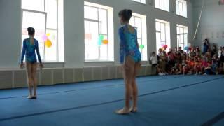 1й юношеский разряд по акробатике