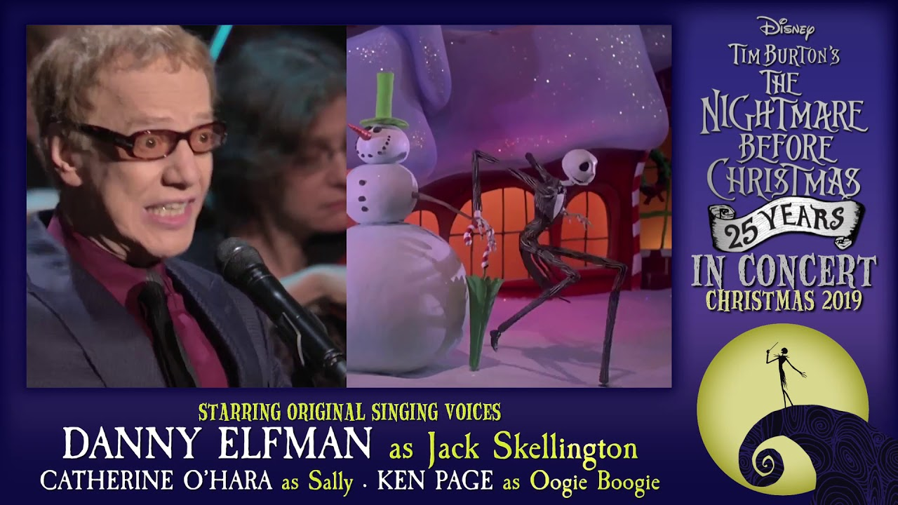 THE NIGHTMARE BEFORE CHRISTMAS LIVE IN