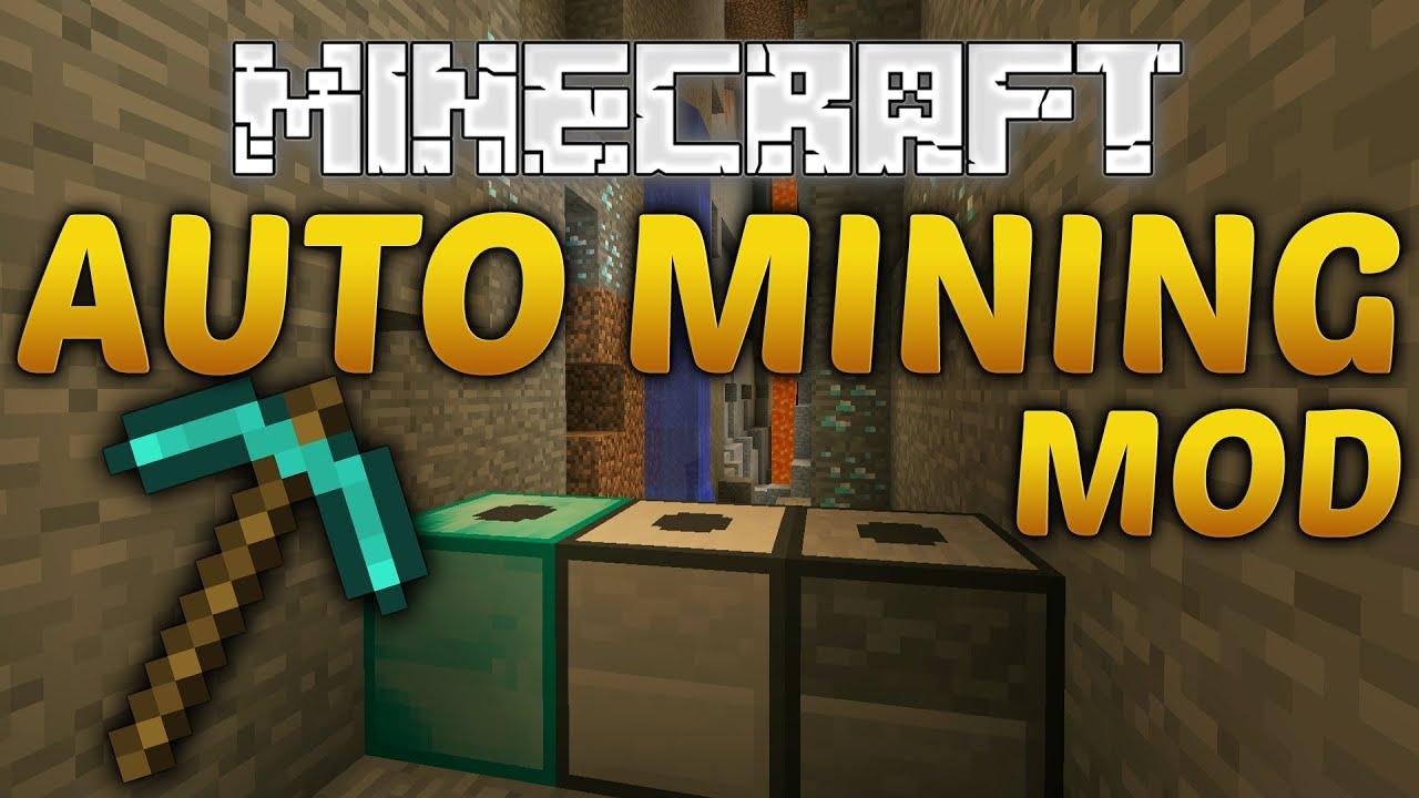 Minecraft AUTO MINING MOD Progressive Automation YouTube - Minecraft spieler finden mod
