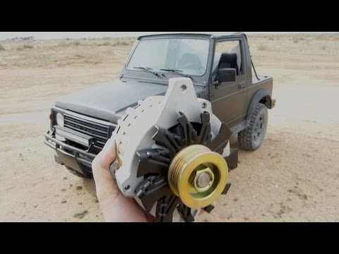 suzuki samurai cs130 105 amp alternator upgrade youtube Suzuki Samurai Tail Light Wiring