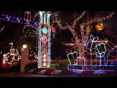 Christmas Lights in Palm Beach Gardens, FL
