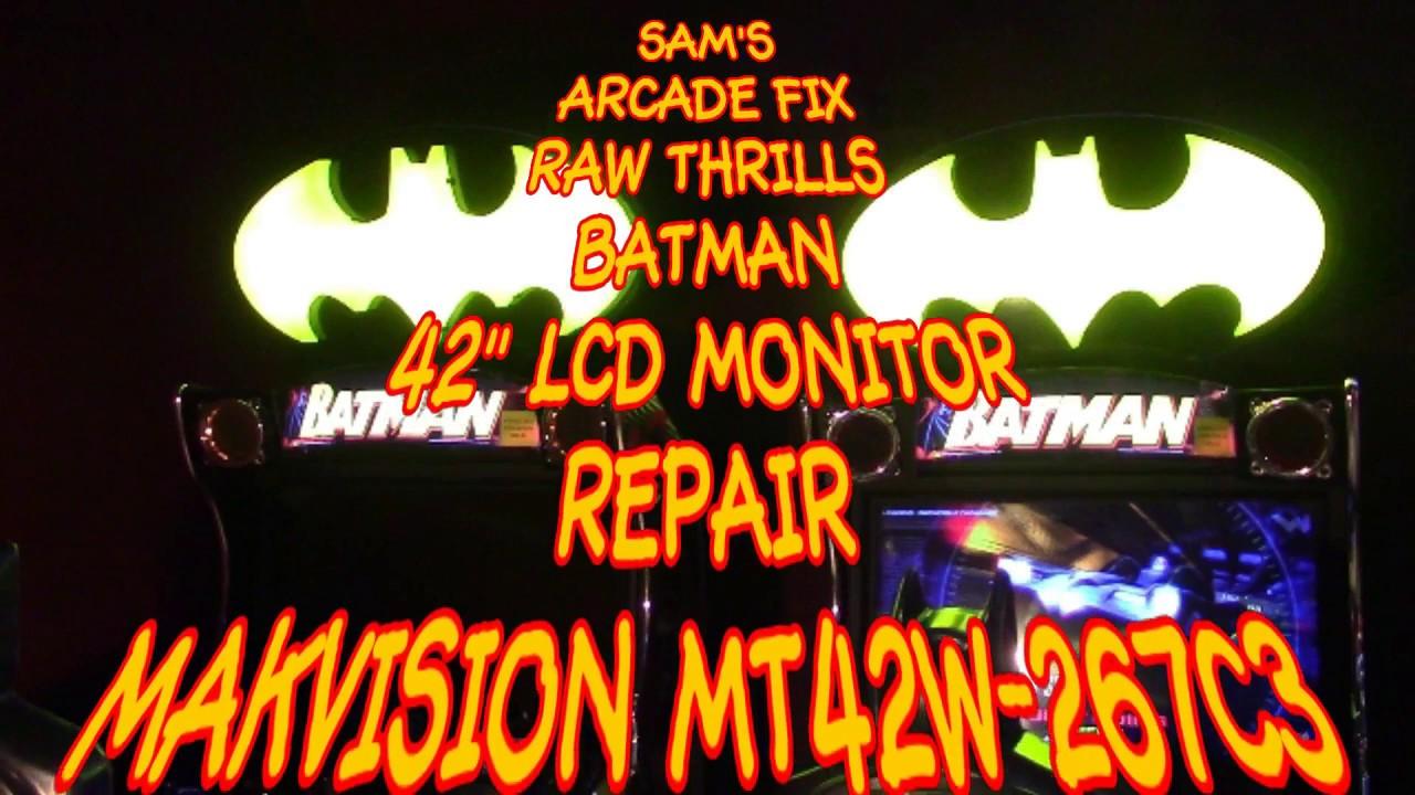 Batman LCD Monitor Repair WEI-YA/Makvision MT42W-267C3 - KLOV/VAPS