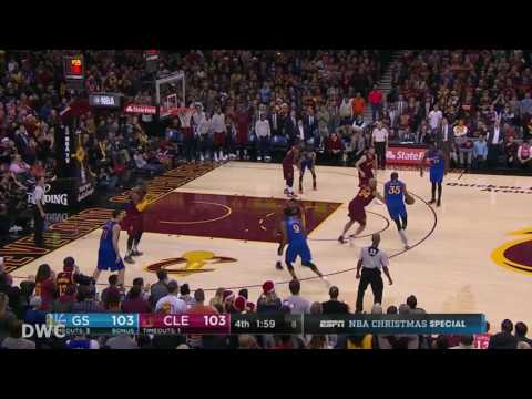 Richard Jefferson Defense On Kevin Durant in 4th Q,  December 25, 2016