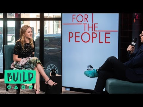 """Britt Robertson Discusses The Second Season Of """"For The People"""""""