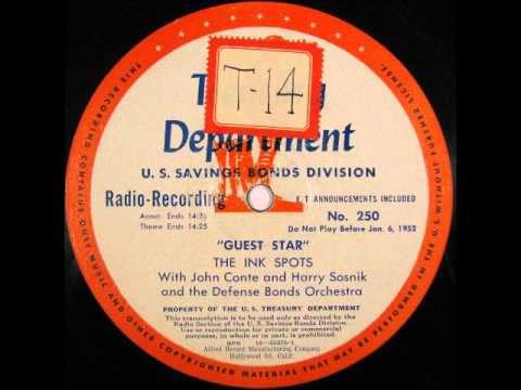 The Ink Spots featured on Treasury Dept 'Guest Star' Radio Program - 1951