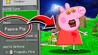 Do NOT Use the PEPPA PIG Seed in Minecraft at 3:00 AM..