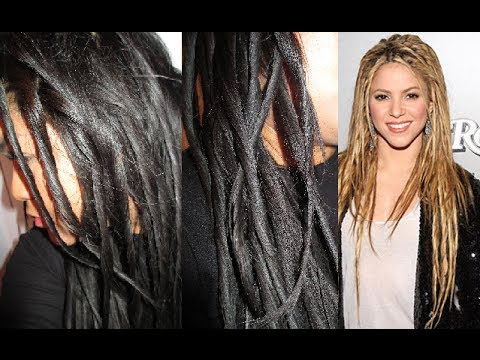 How To Fake Dreadlocks Shakira Inspired Hairstyle Youtube