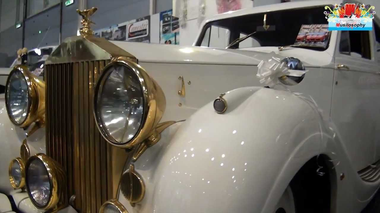 White Gold Rolls Royce - Luxury Classic Wedding Car ...