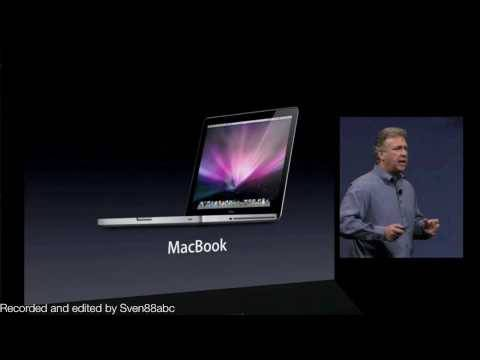 Apple WWDC 2009 Keynote - MacBook line-up refresh (part 2)
