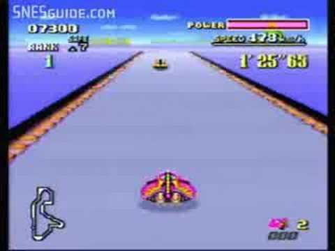 F-Zero - SNES Gameplay