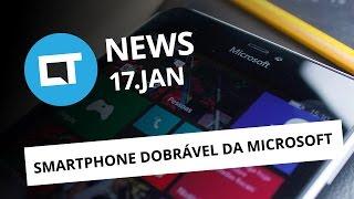 Smartphone dobrável da Microsoft, Mi Mix Evo, Nintendo Switch esgotado nos EUA e + [CTNews]