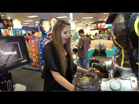 NEVER TOO OLD FOR CHUCK E CHEESE
