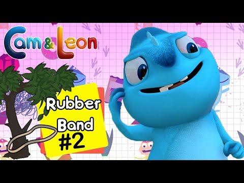 Hilarious Children Cartoon | Rubber Band #2 | Cam & Leon