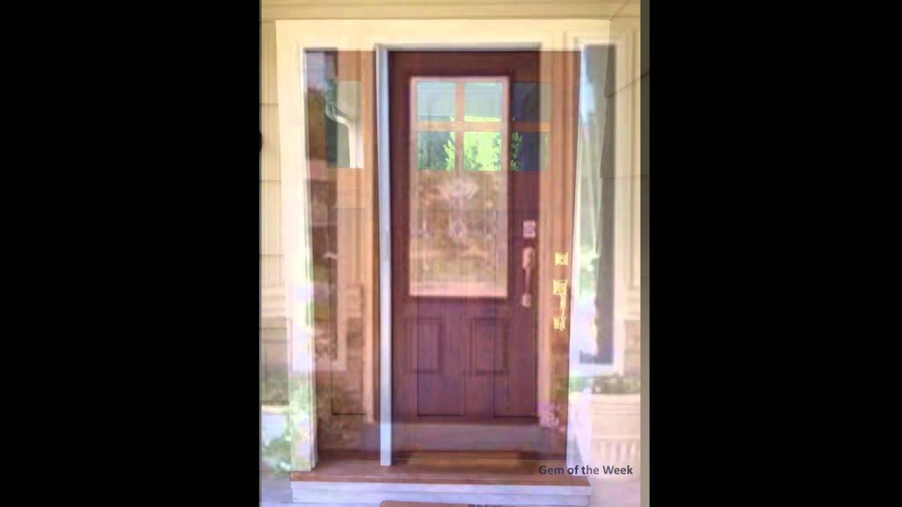 how to paint front door youtube