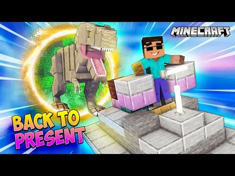 TIME TRAVELLING BACK TO THE PRESENT In Minecraft (Part 2)