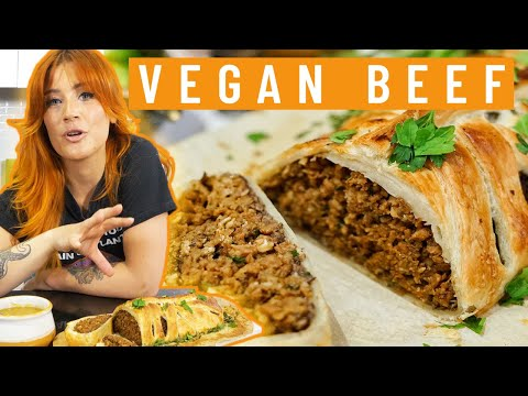 I Made A Vegan Beef Wellington (It ACTUALLY Tastes Like Meat...)