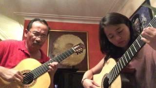 IF - The Bread; Guitar: Hoàng Ngọc-Tuấn & Phan Quỳnh Trâm