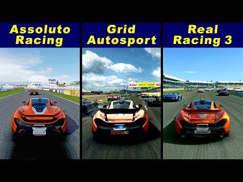 Assoluto Racing Vs Grid Autosport Vs Real Racing 3 - McLaren P1
